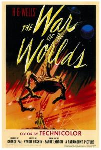 La guerra de los mundos, en versión cinematográfica se estrenó en 1953. Estaba basada en el libro de H. G. Wells.
