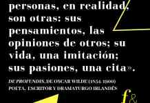 Frase filosófica Oscar Wilde