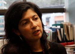 La profesora Carolina Cepeda, experta en movimientos sociales. Foto: César Pachón.
