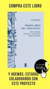 Primer libro del Órganon, de Aristóteles (Sígueme editorial).