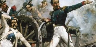 Fragmento de la portada del libro «Episodios nacionales I. La guerra de la independencia», de Galdós, en edición de Destino.