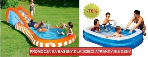 baseny nadmuchiwane dla dzieci
