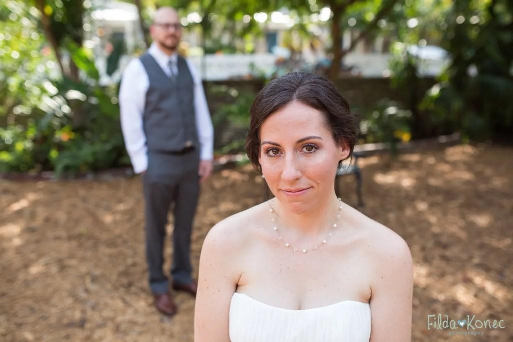 bridal portrait on wedding photography in key west florida