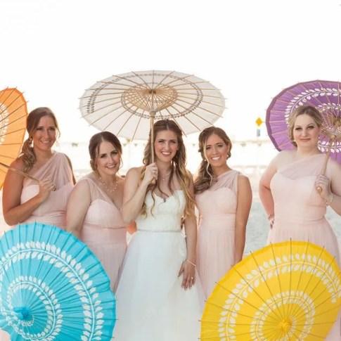 bridal party photo at key west wedding