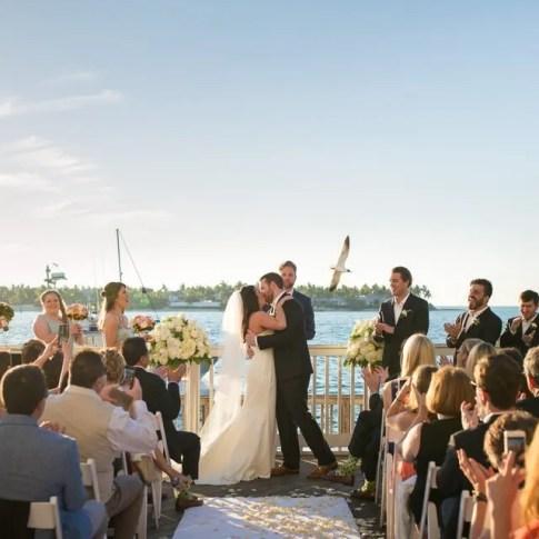 ocean key resort wedding in key west florida