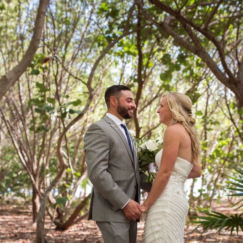 wedding at fort zachary taylor in key west florida
