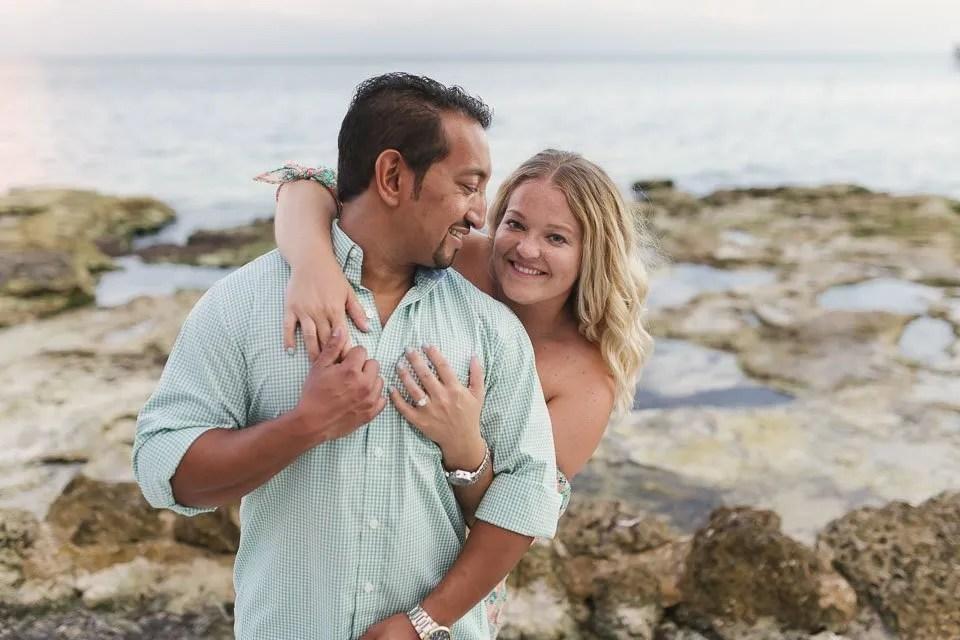 beach couple photography key west