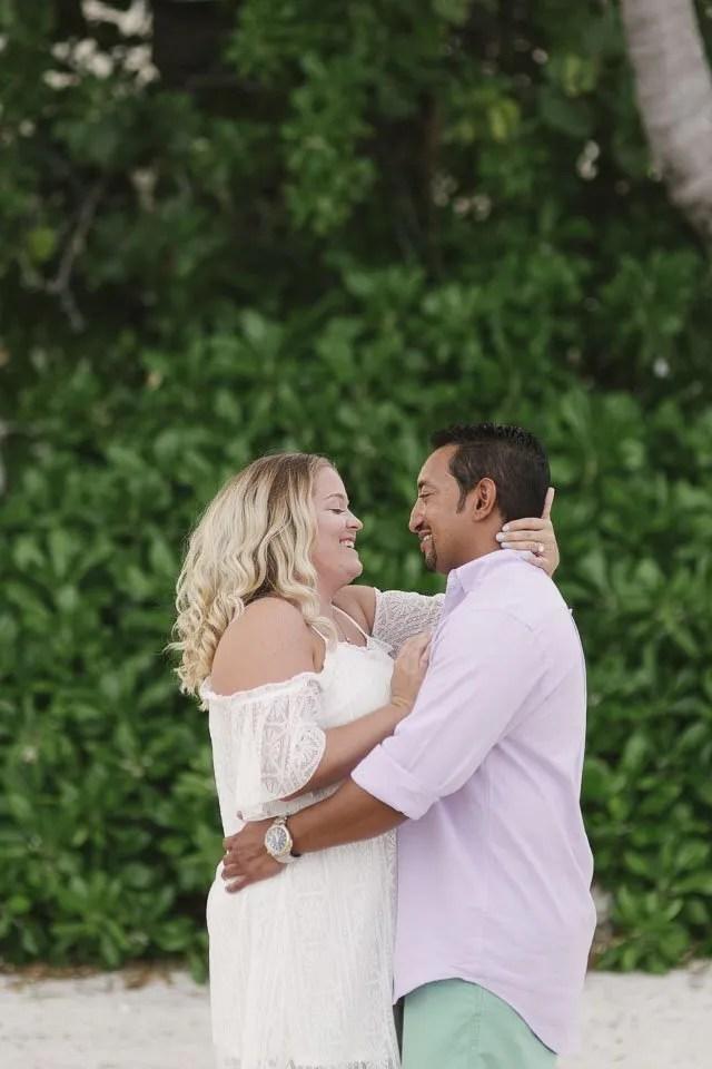 happy couple proposal photographer key west