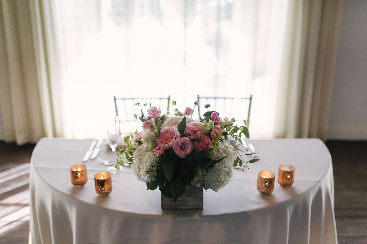 casa marina wedding decor
