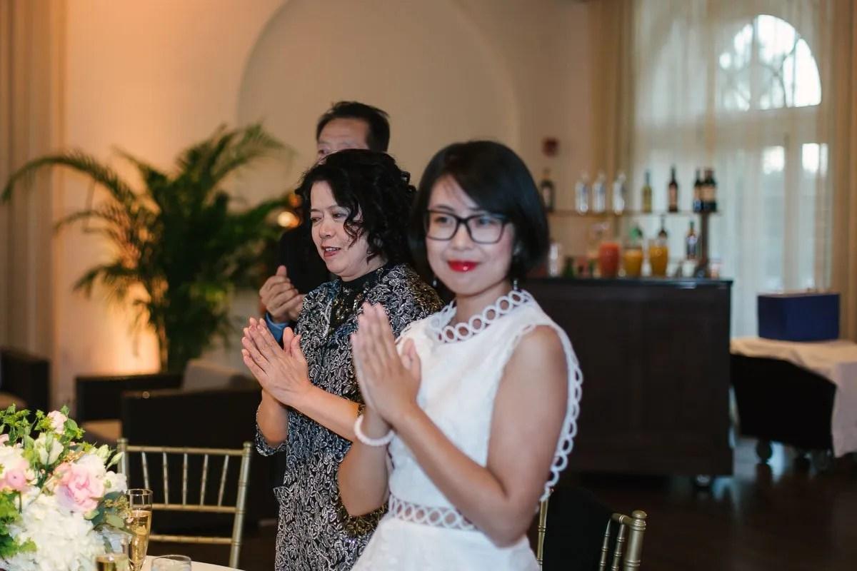 wedding reception at casa marina key west
