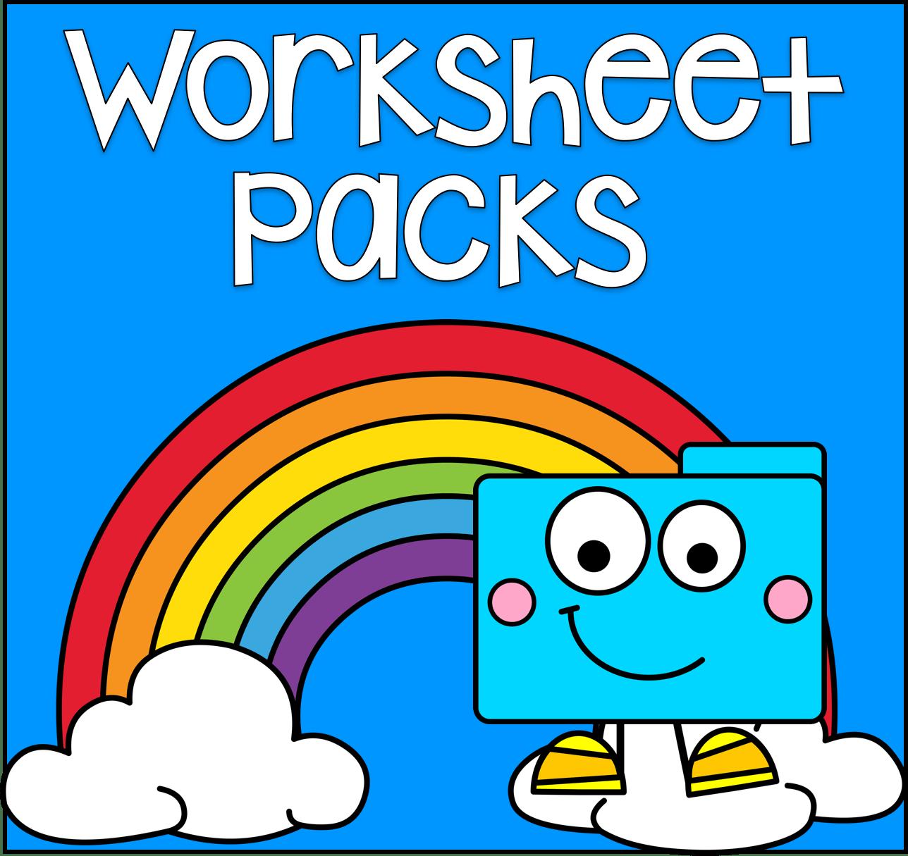 Worksheet Packs File Folder Games At File Folder Heaven