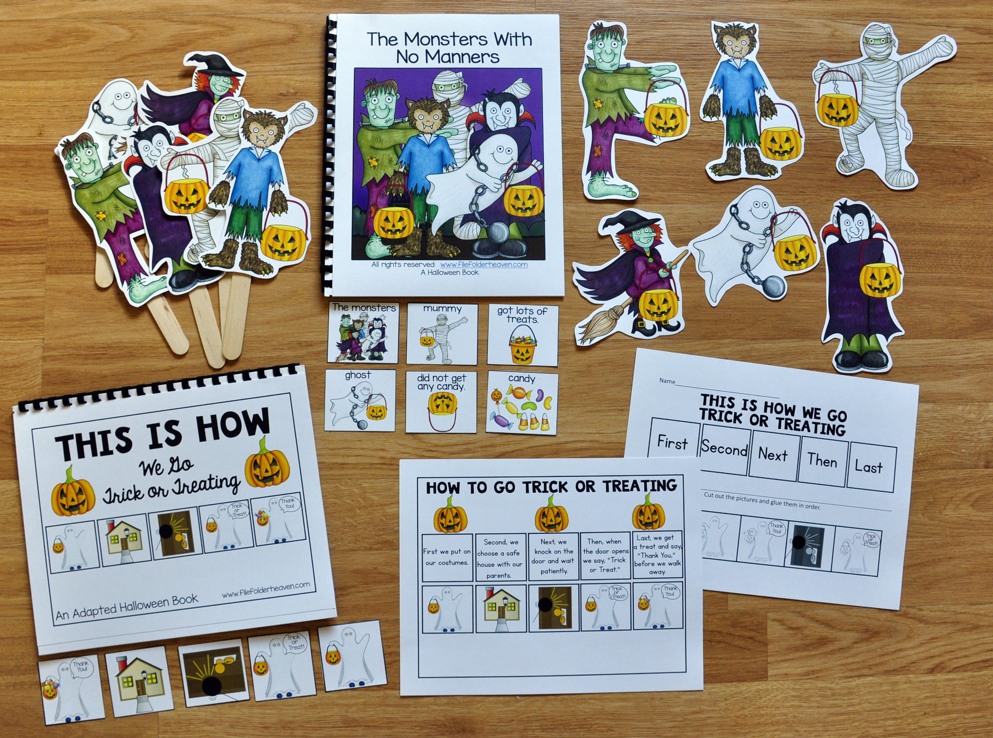 The Monsters With No Manners Adapted Book And Activities