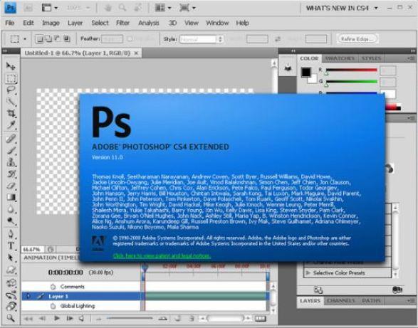 Adobe Photoshop CS4 Latest Version