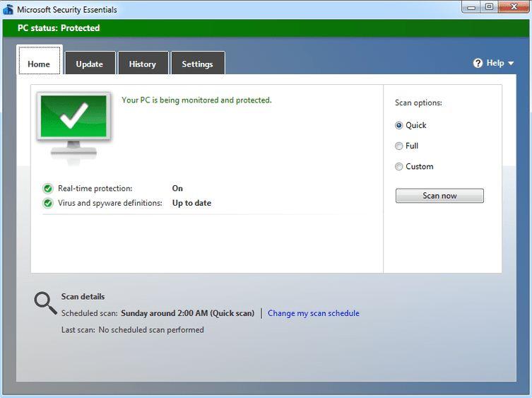 Microsoft Security Essentials Latest Version