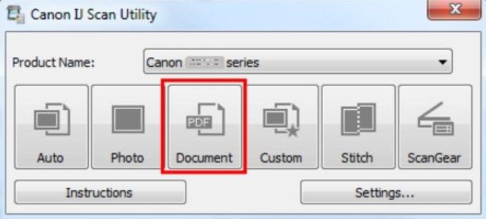 Canon IJ Scan Utility Latest Version