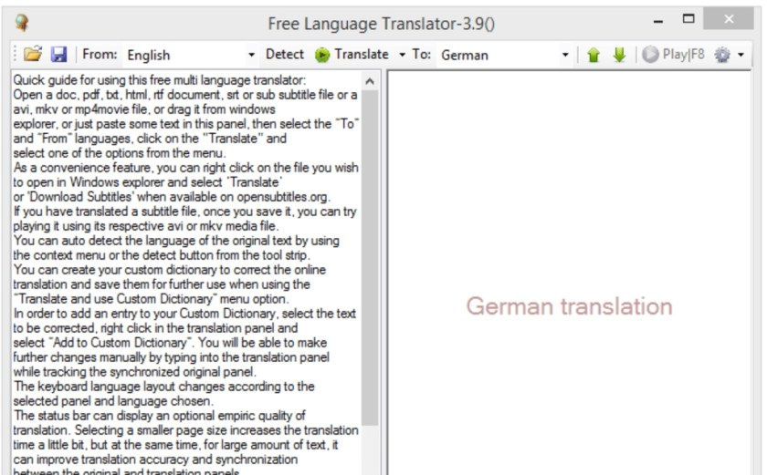 Free Language Translator Latest Version