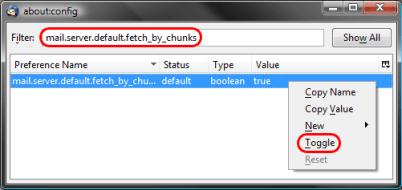 attachment issue fix in thunderbird