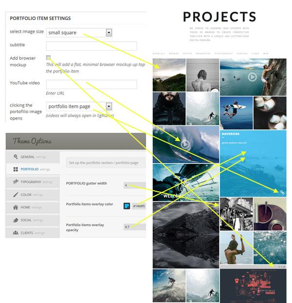 Redfolio - a Responsive OnePage WordPress Theme - 2
