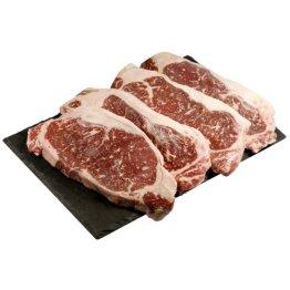 Wagyu Kobe Sirloin Beefsteak - Tiefgekühlt - Marmorierungsgrad 4-5 - 4 x 250 g - 1