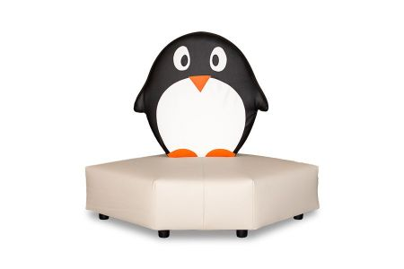 Kindersofa Pinguin