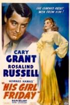 His Girl Friday 1940 film