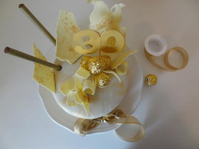 Filines Testblog, Geburtstagstorte, Rocher