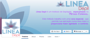 Capa para Facebook Linea-Depil