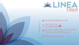 Cartão de Visita Linea-Depil