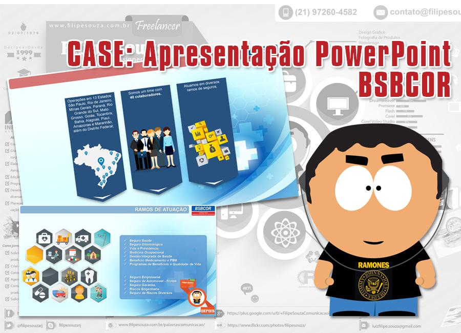 Case Clientes: Reformulação de Apresentação em Powerpoint