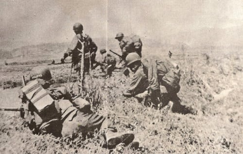 Philippine 10th Battalion Combat Team (BCT) at the Battle of Yuldong