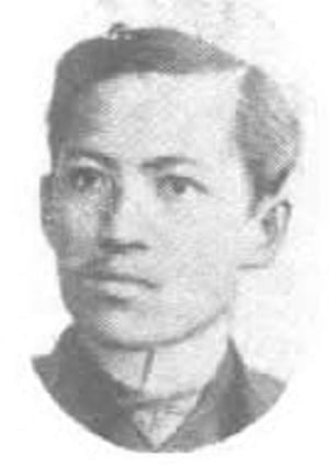Jose Rizal at the age of 25