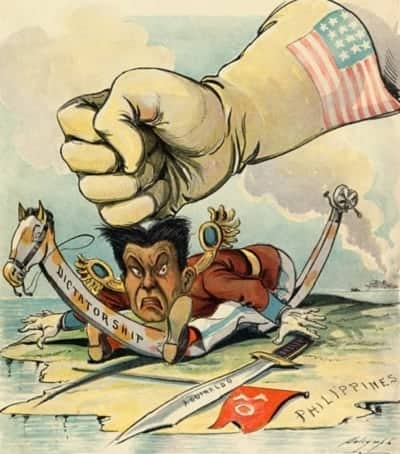 philippine american war political cartoon