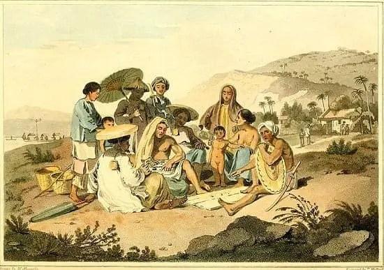 Cochinchina in the 18th century