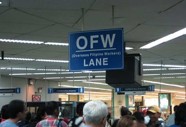MANILA, Philippines - Starting March 2017, overseas Filipino workers no longer have to pay the P550 airport terminal fee.