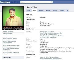 manny villar facebook
