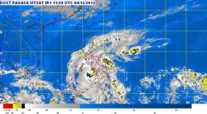 typhoon pablo 2012