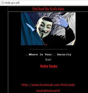 nbdb website hacked