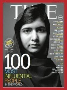 Malala Yousafzai time 100