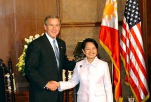 George W Bush - Gloria Arroyo