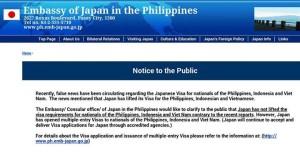 japan no visa for filipinos