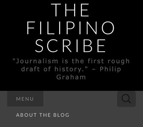 Important note to all The Filipino Scribe subscribers