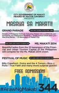 araw ng makati 2014