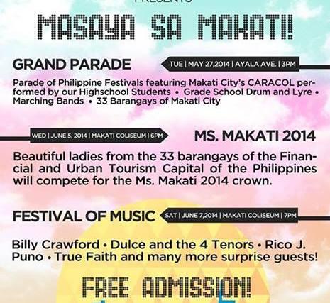 Araw ng Makati 2014 holiday?
