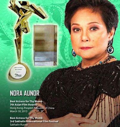 President Aquino was misinformed about Nora Aunor's drug case