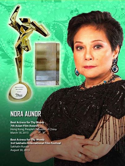 Nora Aunor removed from the list of National Artist awardees