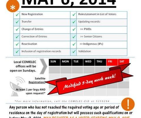 voter registration 2016 philippines