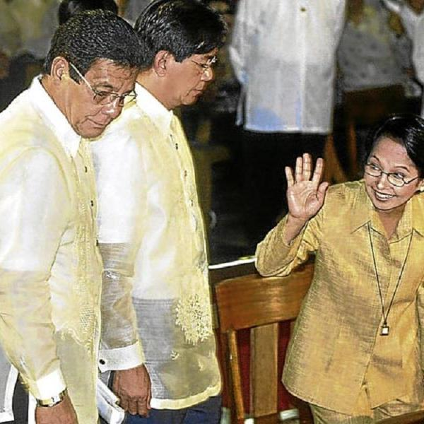 Lacson had legal standing to challenge Arroyo's 2004 poll victory, but he did not