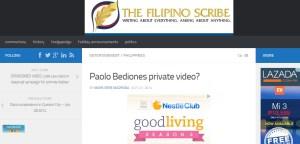 the filipino scribe