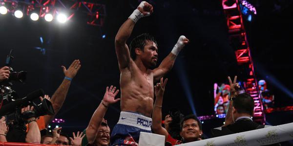 Manny Pacquiao defeats Chris Aligieri via unanimous decision