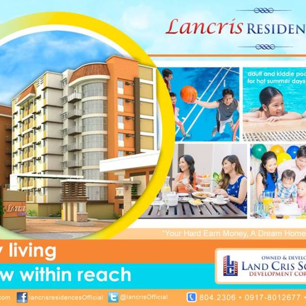 Lancris Residences to give P5000 discount for new unit reservations for February